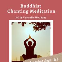 Buddhist Chanting Meditation: Led by Ven. Woo Sang