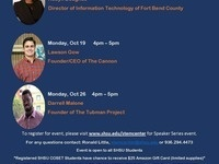 STEM Center Fall Speaker Series