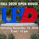 FALL 2020 OPEN HOUSE, Saturday, November 14, 2020 - 9am - 12pm