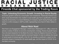 Fireside chat with Nick Noel: Unlocking Economic Growth: Investing in Racial Equity