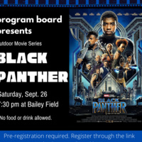 Outdoor Movie: Black Panther