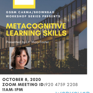 Metacognitive Learning Skills Workshop