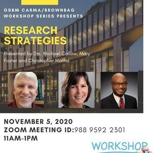 Research Strategies Workshop