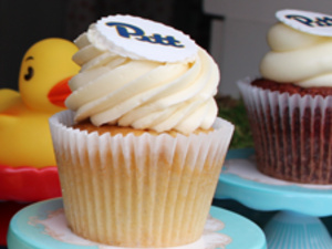 Pitt-Greensburg Blue & Gold Celebration: Happy Camper Cupcakes