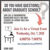 Graduate Info Night Flier