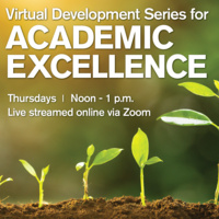 Virutal Development Series for Academic Excellence