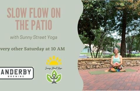 Slow Flow Yoga at Anderby Brewing