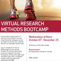 Virtual Research Methods Bootcamp