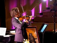 Violinist Tim Fain and DeeDee (2019)