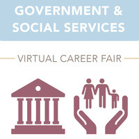 Government & Social Services Virtual Career Fair