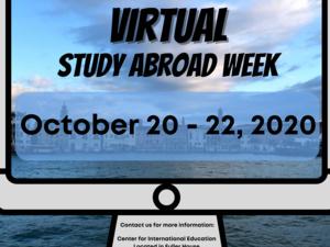 Virtual Study Abroad Week