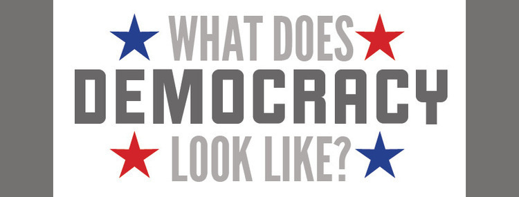 Conversations With the Curators: What Does Democracy Look Like? (Part I)