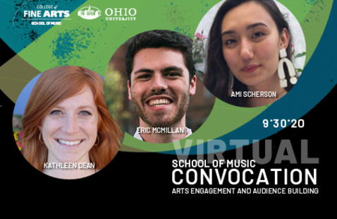 School of Music Convocation: Arts Engagement and Audience Building