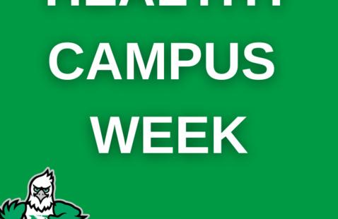 Healthy Campus Week - Oct 12-16