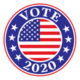 Vote 2020 logo