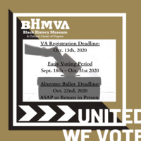 Voter Registration @ BHMVA