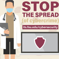 Cybersecurity Awareness Month 2020 - Stop the spread of cybercrime