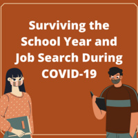 Surviving the School Year and Job Search in COVID-19