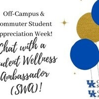 Chat with a Student Wellness Ambassador! - Off-Campus & Commuter Appreciation Week
