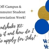 Handshake 101: Navigating the Job Search Process - Off-Campus & Commuter Appreciation Week