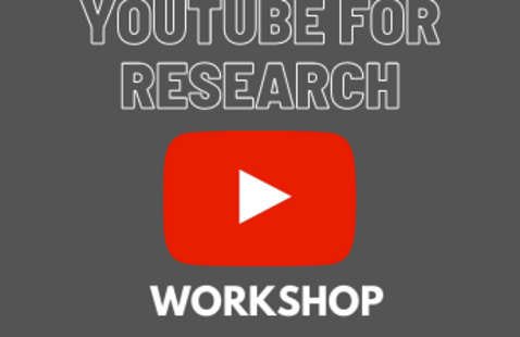 YouTube for Research graphic