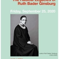 GSRS Lunch Chat: The Radical Legacies of Ruth Bader Ginsburg