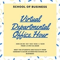 School of Business: Departmental Office Hour