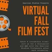 American Studies Presents: Virtual Fall Film Festival
