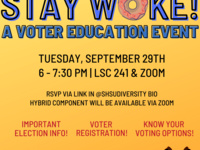 Stay Woke! A Voter Education Event