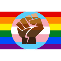 QTPOC flag by Scout the BootBlack