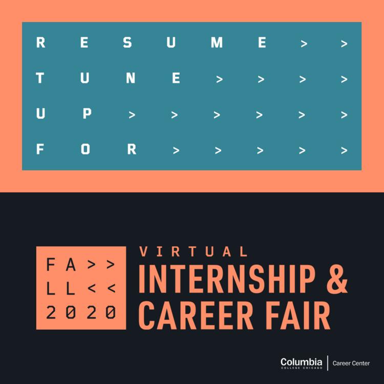 Resume Career Fair Tune Up (Drop In)