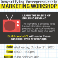 Workshop 2 - Demystifying Entrepreneurship: Marketing
