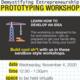 Workshop 3 - Demystifying Entrepreneurship: Prototyping