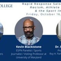 Rapid Response Salon: Racism, Athlete Activism and the Sport Industry