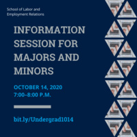 VIRTUAL Information Session for Majors and Minors