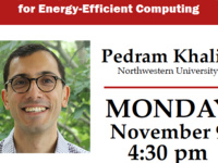 ECE Colloquium Series: Pedram Khalili: Emerging Spintronic Device Concepts for Energy-Efficient Computing