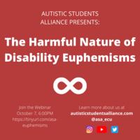 The Harmful Nature of Disability Euphemisms