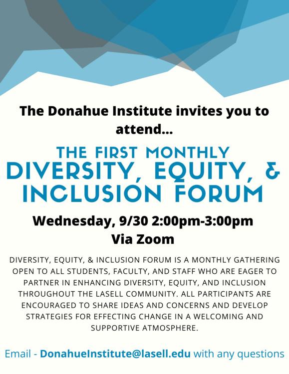 Diversity, Equity, & Inclusion Forum