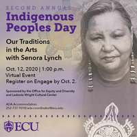 Second Annual Indigenous People's Day: Senora Lynch