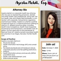 HLBA Attorney Spotlight Series: Ayesha Mehdi, Esq.