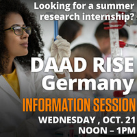 DAAD RISE Germany Information Session