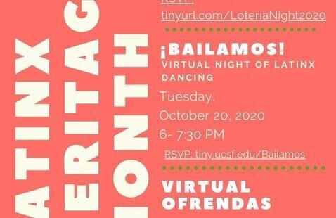 ¡Bailamos! A Night of Latinx Dancing