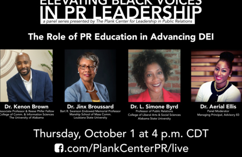 Elevating Black Voices in PR Leadership: The role of PR education in advancing DEI