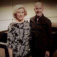 photograph of Joanna Burnside and Stephen Redfield standing