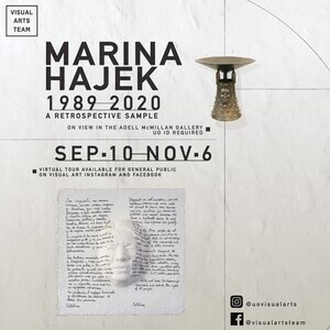 Event: Marina Hajek 1989 – 2020: A Retrospective Sample