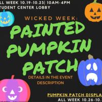 Wicked Week: Painted Pumpkin Patch