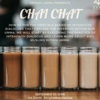 UMMA Chai Chat:  Intrafaith Dialogue