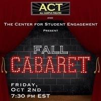 All Campus Theatre: Fall Cabaret