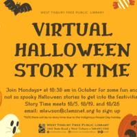 Virtual Halloween Storytime
