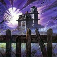 Glow-in-the-Dark Haunted House Craft and Nighttime Scavenger Hunt (In Person Program)